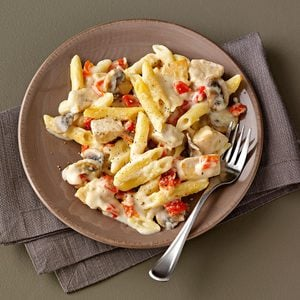 Three-Cheese & Pepper Penne