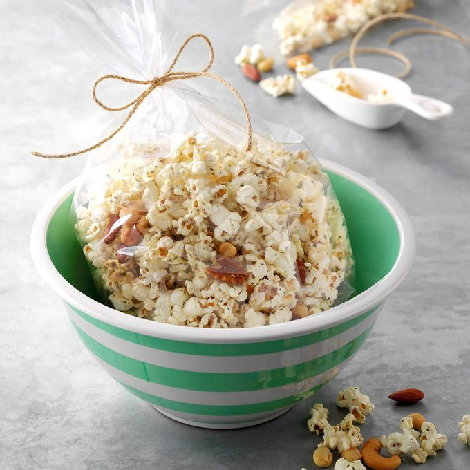 Three-Herb Popcorn