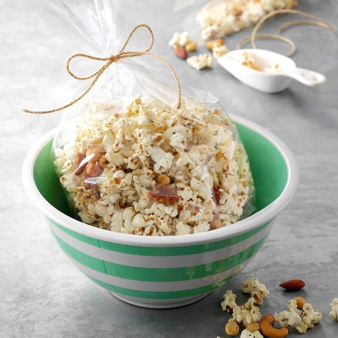 Three-Herb Popcorn