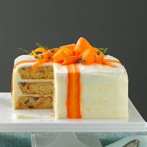 Three-Layered Carrot Cake