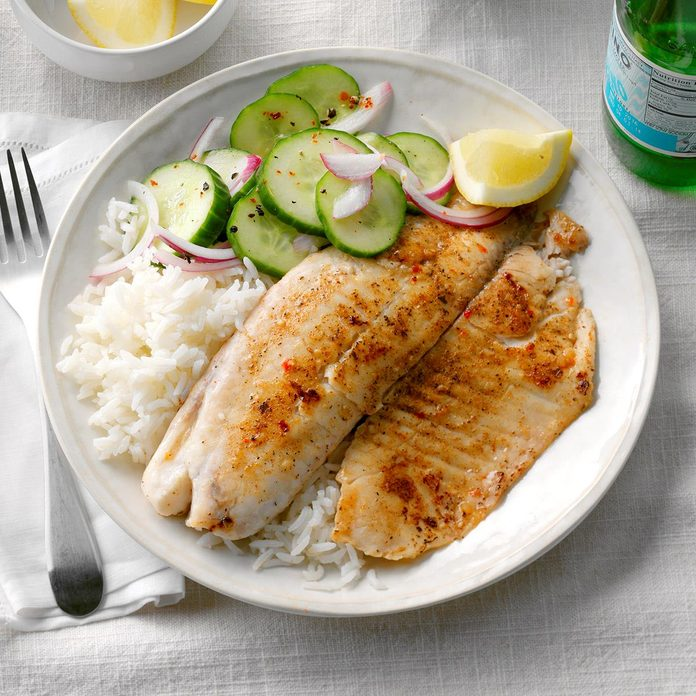 Tilapia With Jasmine Rice Exps Sddj17 39834 B08 03 1b 4