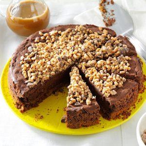 Toffee Truffle Cheesecake