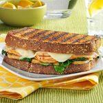 Turkey Florentine Sandwiches