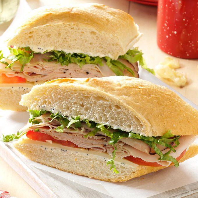 Inspired by: Rotisserie Turkey Breast Sandwich