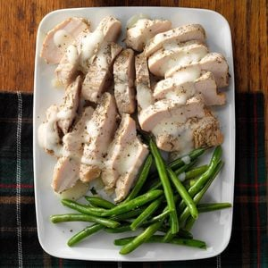 Turkey in Cream Sauce