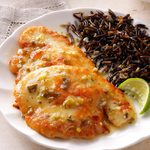 Turkey with Lime Butter Sauce