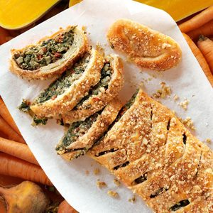 Tuscan Artichoke & Spinach Strudel