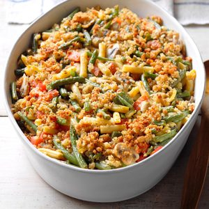 Two-Bean Tomato Bake