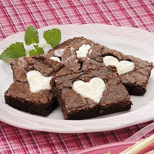 Valentine Brownies