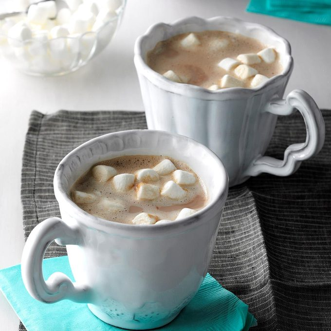 Inspired by: Hot Chocolate with French Vanilla and Toasted Almond Flavor Shots