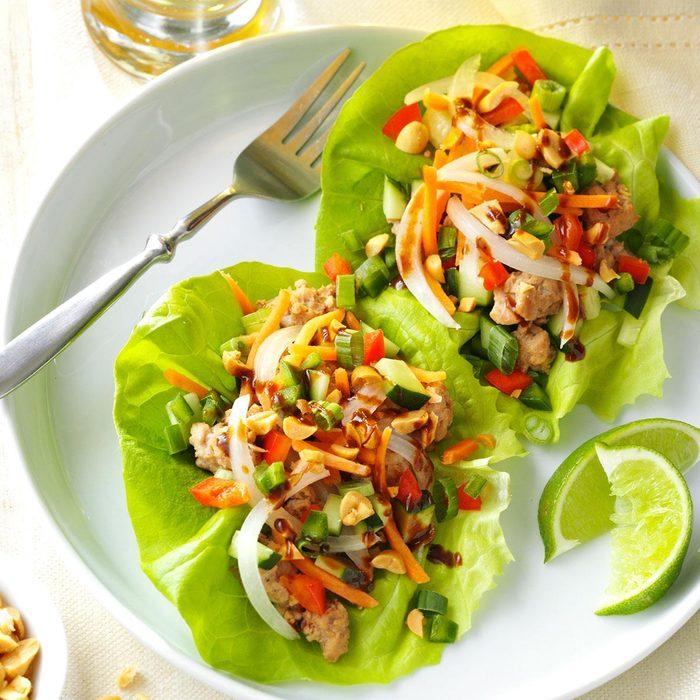 Vietnamese Pork Lettuce Wraps