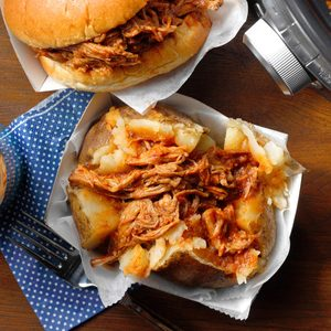 Whiskey Barbecue Pork