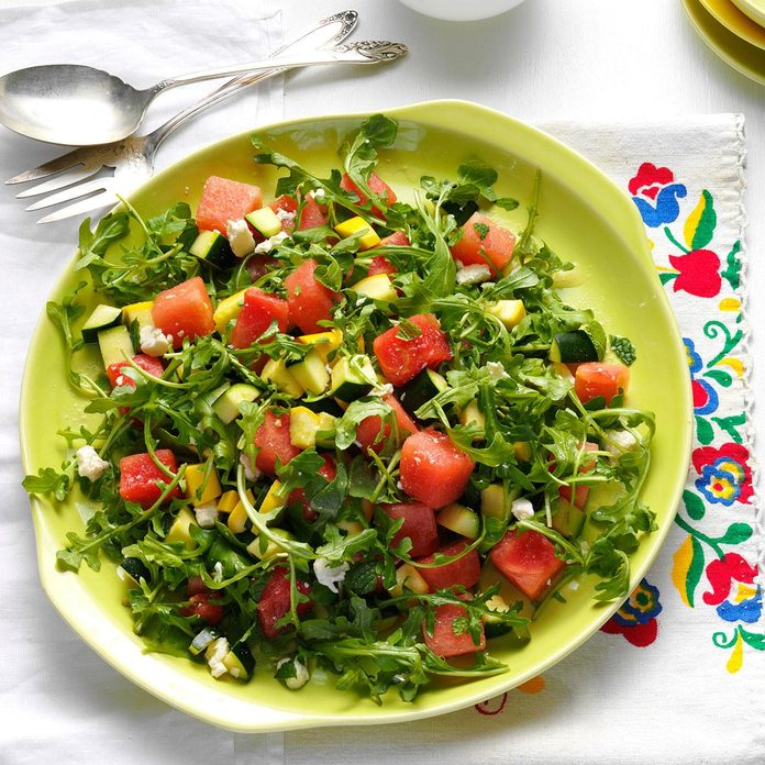 Yellow Squash Watermelon Salad Exps147256 Th143192b02 05 3bc Rms 4