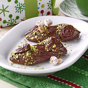 Yule Log Cookies