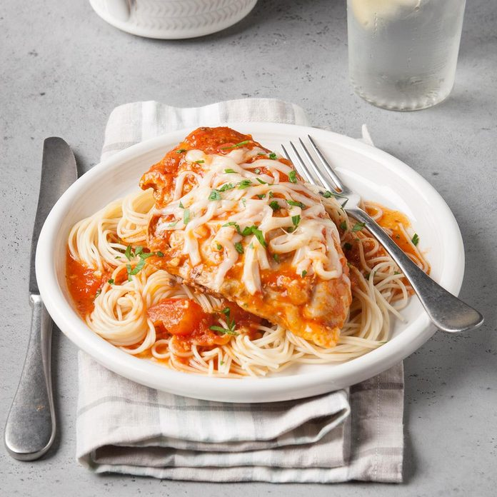 Zesty Chicken Marinara
