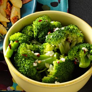 Zesty Garlic Broccoli