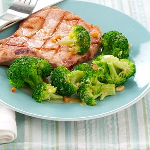 Zesty Lemon Broccoli