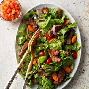 Zesty Steak Salad