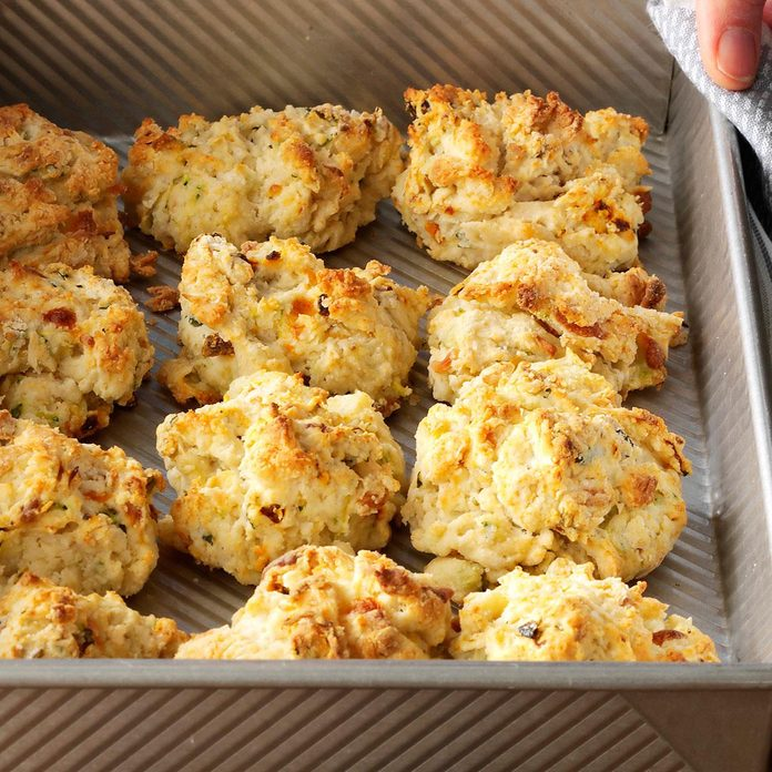 Zucchini & Cheese Drop Biscuits