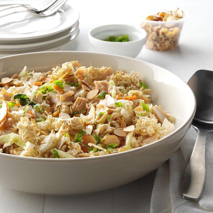 Turkey Ramen Noodle Salad