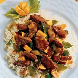 Curry Lamb Stir Fry