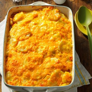 Party Potatoes Au Gratin