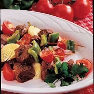 Curried Beef Kabobs