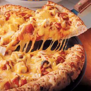 Chicken Salsa Pizza