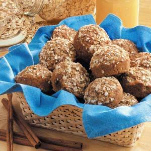 Three-Grain Muffins