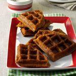 Gingerbread Belgian Waffles