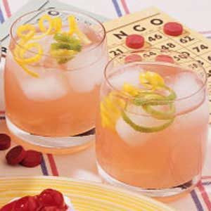 Simple Lemon Berry Pitcher Punch