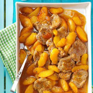 Just Peachy Pork Tenderloin