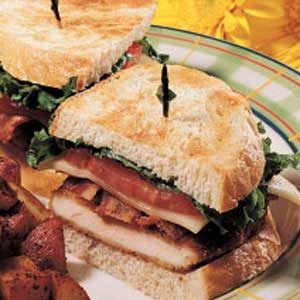 Sourdough Chicken Sandwiches