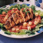 Herbed Chicken Caesar Salad