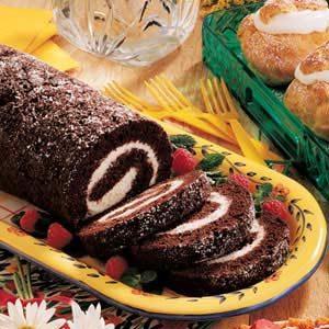 Chocolate Zucchini Roll