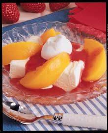 Strawberry Peach Melba