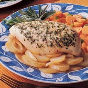 Chicken and Garlic Potatoes