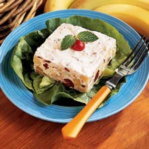 Frozen Cranberry Banana Salad