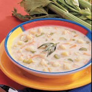 Winning Cream of Cauliflower Soup