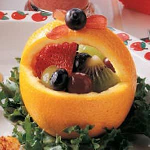 Orange Fruit Baskets