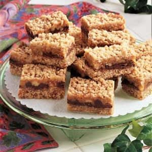 Caramel-Chocolate Oat Squares