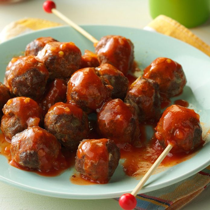 Tiny Taco Meatballs