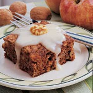 Walnut Apple Cake