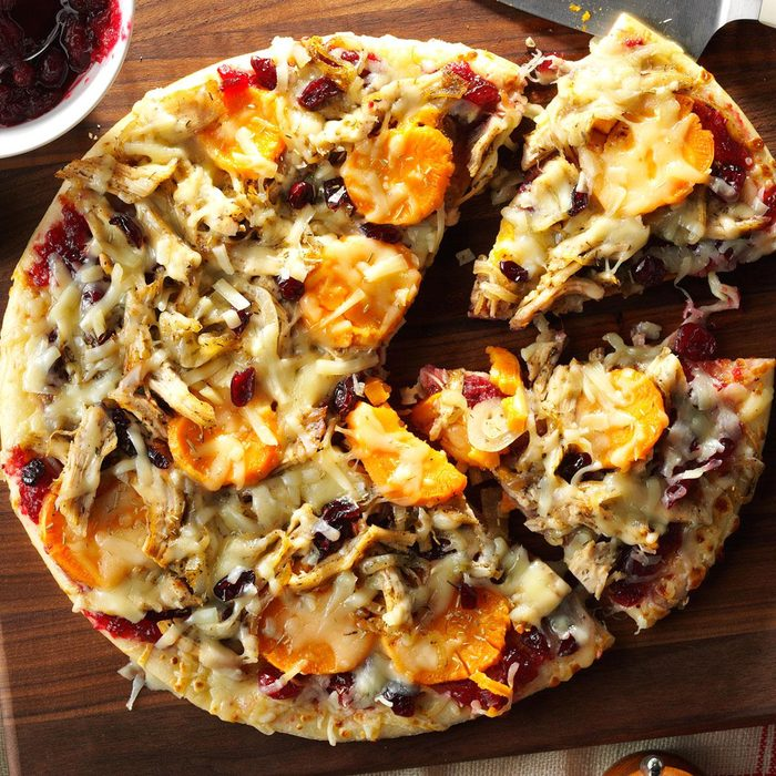 Friday: Thanksgiving Lover's Pizza