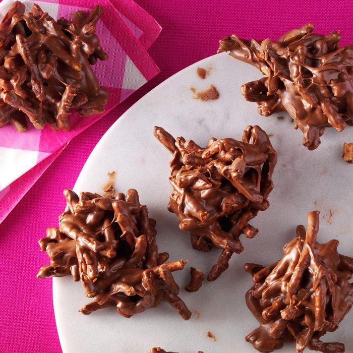 Colorado: Chocolate Butterscotch Haystacks