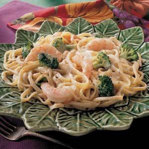 Herbed Shrimp Fettuccine