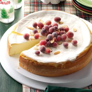 Amaretto Ricotta Cheesecake