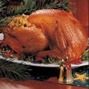 Turkey with Cornbread Stuffing