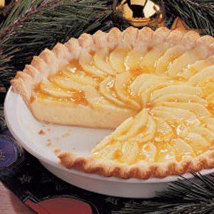 Quick Apple Cream Pie