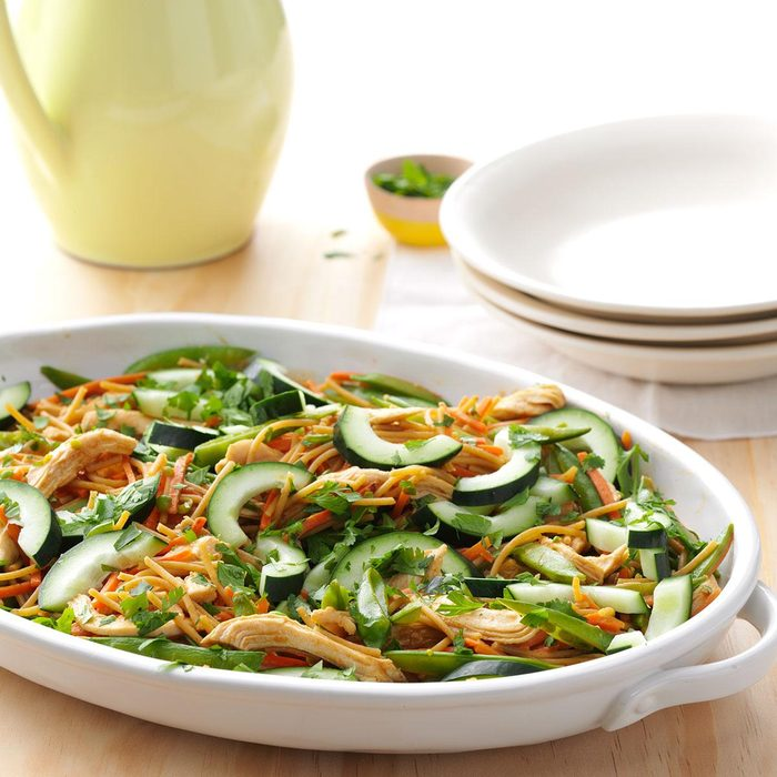 Thai Chicken Pasta Skillet